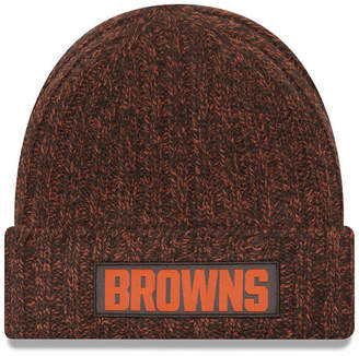 New Era Women's Cleveland Browns On Field Knit Hat