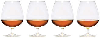 Mikasa Barmaster's Set of 4 Brandy Glasses