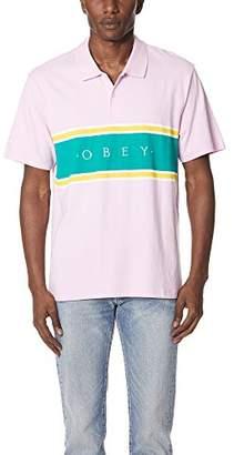 Obey Men's Palisade Short Sleeve Polo Shirt