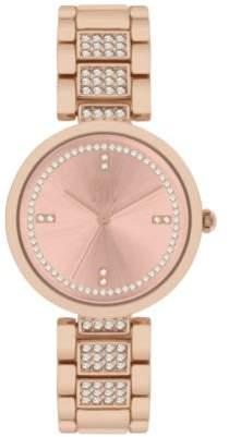 INC International Concepts I.N.C. Women's Pavé Bracelet Watch 32mm, Created for Macy's