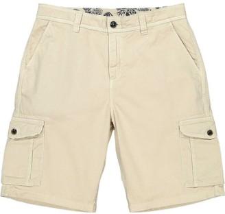 BEIGE Panareha Crab Cargo Shorts in