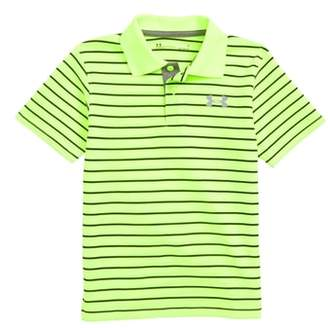 Under Armour Playoff Stripe HeatGear(R) Polo