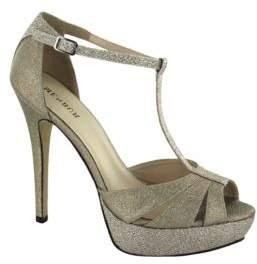 Menbur Albendin T-Strap Platform Sandals $117 thestylecure.com