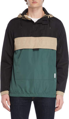 Bellfield Color Block Pullover Jacket