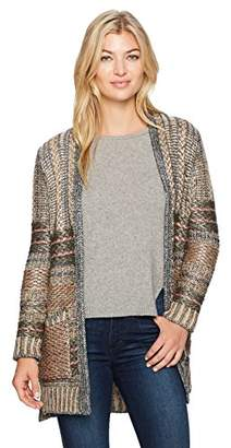 Desigual Women's Mach Woman Flat Knitted Thick Gauge Jacket