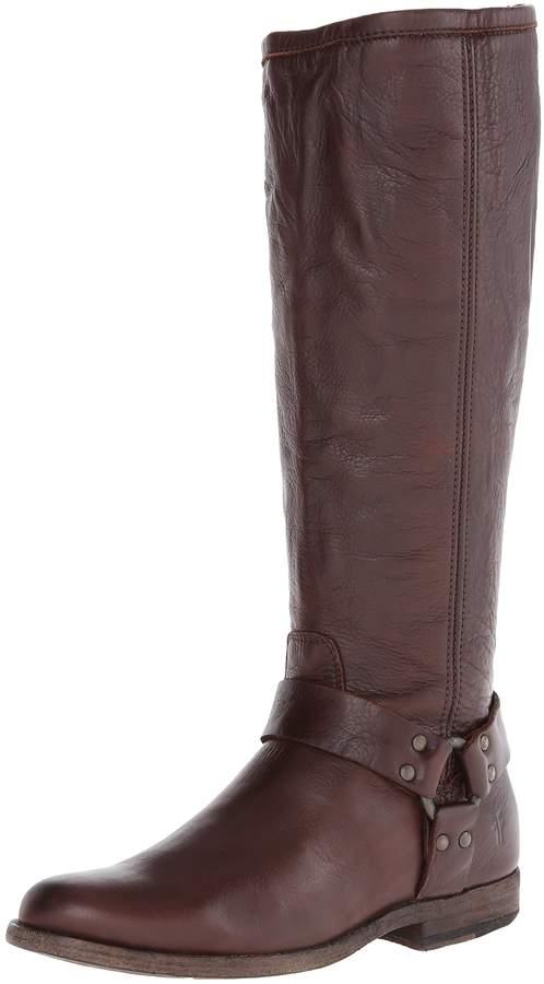 Frye Women's Phillip Harness Tall Boot: Wide Calf