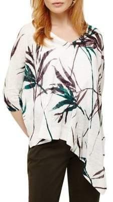 Phase Eight Bora Linen Bamboo Print Sweater