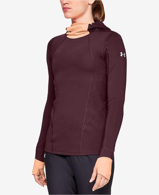 Under Armour Cold Gear Reactor Run Balaclava Long Sleeve Top