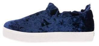 Opening Ceremony Eclipse Velvet Slip-On Sneakers w/ Tags