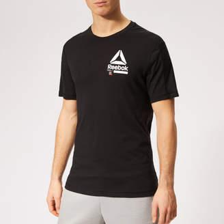 at TheHut.com Reebok Men s Speedwick Move Short Sleeve T-Shirt 1a3af532b9327