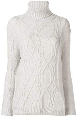 912339837f Cable Knit Turtleneck Sweater - ShopStyle UK