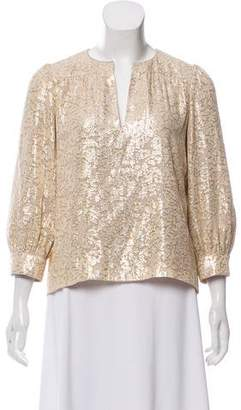 Elizabeth and James Lace Long Sleeve Top w/ Tags