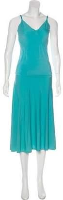 Max Mara Sleeveless A-Line Skirt Set