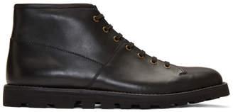 Prada Black Hiking Boots