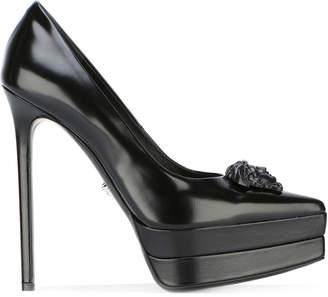 Versace platform toe stilettos