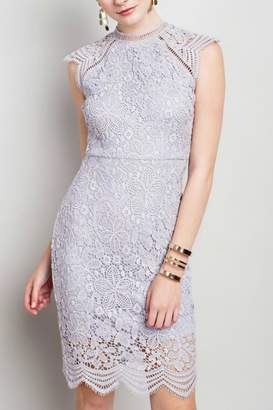 Pretty Little Things Raglan Lace Dress
