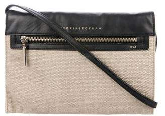Victoria Beckham Leather & Canvas Crossbody Bag
