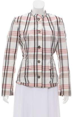 Burberry Lightweight Plaid Jacket
