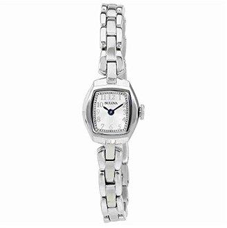 Bulova Women's 96L221 Quartz Stainless Steel Dress Watch $225 thestylecure.com