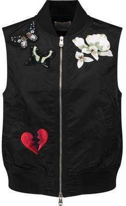 Cinq à Sept Kingston Embroidered Shell Gilet