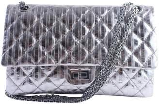 Chanel 2.55 Metallic Leather Handbag