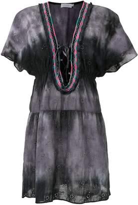 BRIGITTE long sleeved beach dress