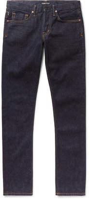 Tom Ford Slim-Fit Stretch-Denim Jeans - Men - Indigo