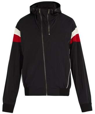 Givenchy Hooded Track Jacket - Mens - Black