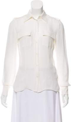 Emilio Pucci Silk Button-Up Top