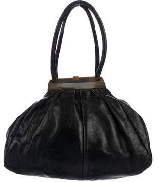Sonia Rykiel Leather Frame Shoulder Bag