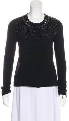 Marni Beaded Cashmere Cardigan