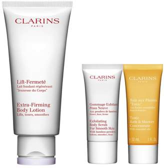 Clarins Extra-Firming Body Lotion 3-Piece Set