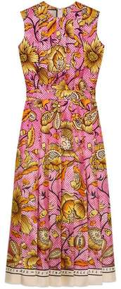 Gucci Silk dress with watercolour flowers