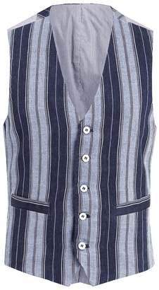 Suit waistcoat navy