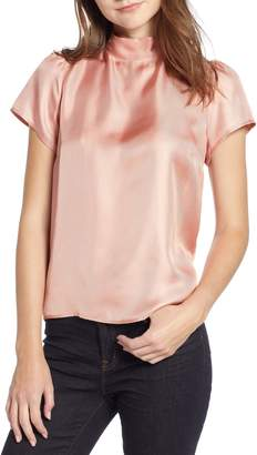 J.Crew Collection Bow Back Silk Top