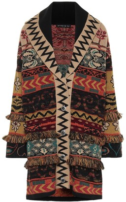 Etro Oversized wool-blend cardigan