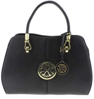 Christian Lacroix Womens Faustine Faux Leather Tote Handbag Medium