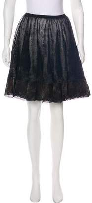 Alaia Fit and Flare Mini Skirt w/ Tags