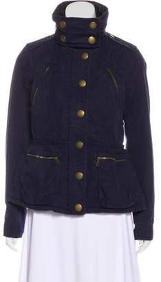 Burberry Heavyweight Zip-Up Jacket