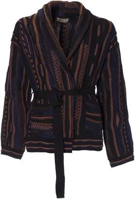 Laneus Pattern Loose Cardigan