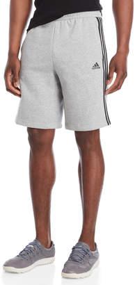 adidas Athletic Stripe Fleece Shorts