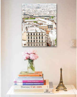 Ruby and B Paris Rooftop Print Ready To Hang Canvas