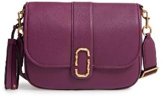 Marc Jacobs Interlock Leather Crossbody Bag - Purple $595 thestylecure.com