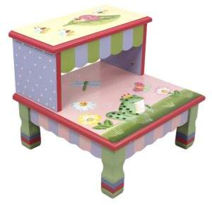 Teamson Magic Garden Step Stool