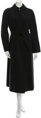 Burberry Wool Belted Coat $380 thestylecure.com