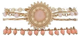 Hipanema Women Stainless Steel Cuff Bracelet - E18SMAGIPI