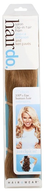 Hairdo. by Jessica Simpson & Ken Paves 21 Human Hair Extension (Strawberry Blonde) - Beauty