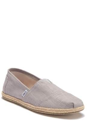 Toms Classic Linen Slip-On Sneaker