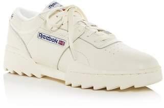 Reebok Women's Workout Ripple OG Low-Top Sneakers