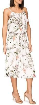 Bobeau B Collection by Maya Floral-Print Midi Dress
